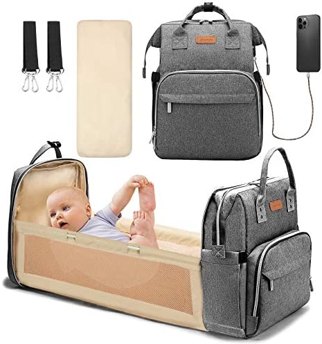 YOOFOSS Diaper Bag Backpack Baby Nappy Changing Bags Multifunction Travel Back Pack with Changing product image
