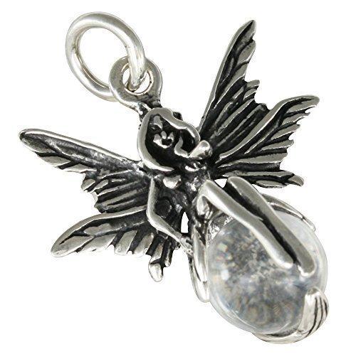 AFP dames hanger elf 925 sterling zilver glazen bol AS-96