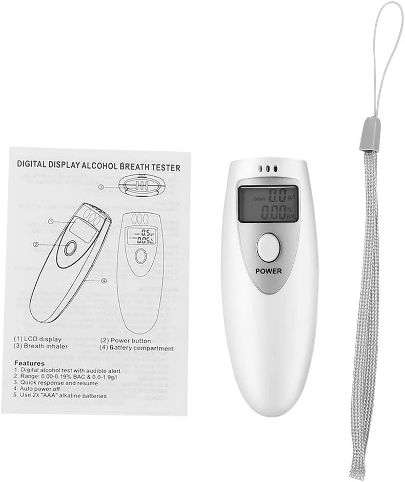 New product Junluck Alcohol Detector Portable Max 40% OFF Breath Quick Handheld