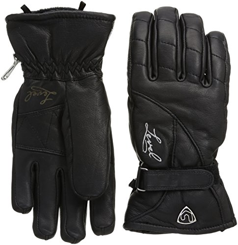 Level Handschuh, Guanti Donna Classic W, Nero (01 Black), XS