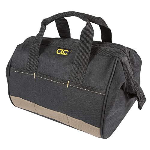 CLC BigMouth Werkzeugtasche klein, 1001161, Werkzeugtasche mit extra großer Öffnung und 14 Einstecktaschen