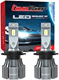 Bombilla H7 LED Canbus 12000LM 6500K Reemplazo de Bombilla Halógena y Kit Xenón