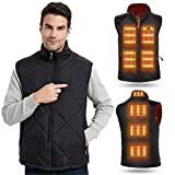 Heated Vest for Men Women Winter Warm Outdoor USB Charging Electric Heating Vest 8 Heated Zones (Battery Not Included),XX-Large