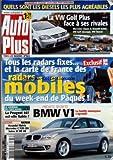 AUTO PLUS [No 863] du 22/03/2005 - 45 MODELES CLASSES CATEGORIE PAR CATEGORIE - QUELS...