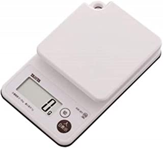 洗えるデジタルクッキングスケール2kg ホワイト