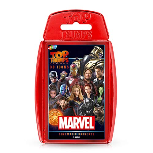 Top Trumps WM00249-EN1-6 Marvel Cinematic Kartenspiel