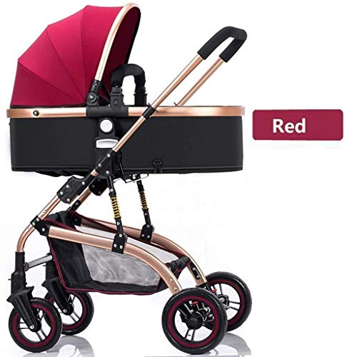 Cheapest Prices! Baby Stroller,Pushchair From Birth To 25 Kg With Lying Position, High-Landscape B...