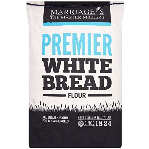 Marriages Premier White Bread Flour - 1x16kg