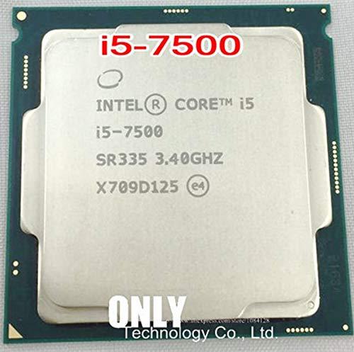 Processor i5 7500 Quad Core LGA 1151 3.4GHz i5-7500 TDP 65W 6MB Cache 14nm Desktop CPU