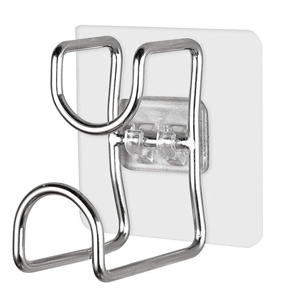 ベット音追い付く5枚セ 洗面器 フック ステンレス壁掛け フック 洗面器収納 洗面器スタンド