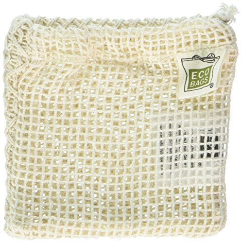 ECOBAGS Natural Cotton Soap Bag by Ecobags