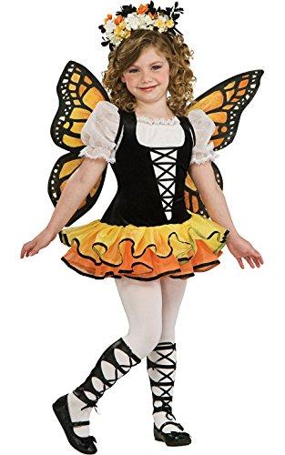 Rubie's Monarch - Disfraz de mariposa (tamaño mediano)