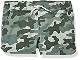 Spotted Zebra Girls' Kids Pull-On Shorts, Camo, X-Small