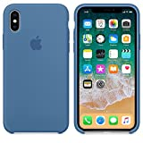 El último Verano Funda iPhone X, Slim Líquido de Silicona Gel Carcasa Anti-Rasguño y Resistente Huellas Dactilares Totalmente Protectora Caso...
