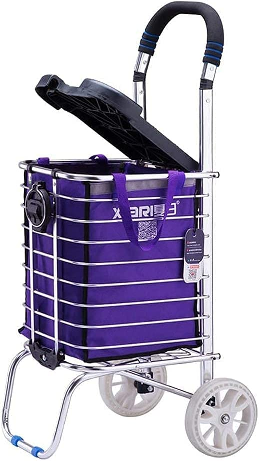 Walkers for seniors Multi-Function Fresno Mall Shopping Cart Little Car SEAL limited product Pull