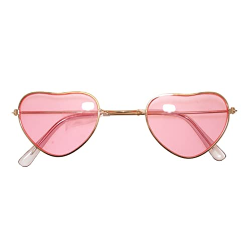 6449a0e22c Fancy Dress Accessory Heart Shaped Hippy Specs