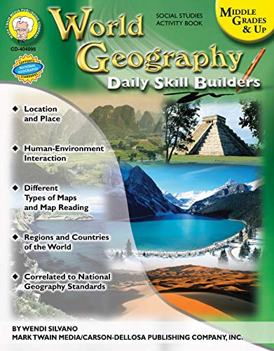 World Geography, Grades 6 - 12 (Daily Skill Builders)