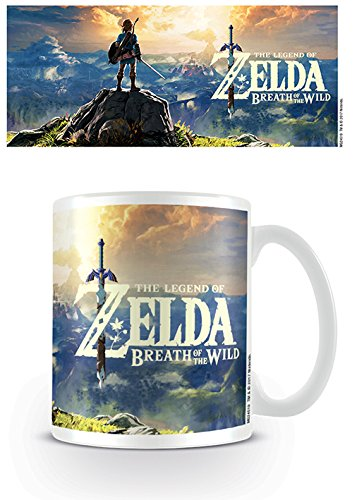 Nintendo Legend Zelda: Breath of The Wild Sunset Ceramic Mug Kaffeetassen, Keramik, Mehrfarbig, 7.9 x 11 x 9.3 cm