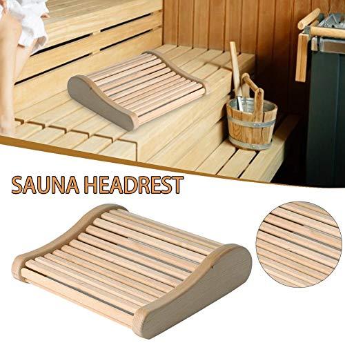 Kussen Houten Hoofdsteun Gebogen Kussen, Sauna apparatuur, Spa Accessoire, voor Thuis Tubs Zwembaden Badkamer Slaapkamer, Spa Gift 45387.5cm