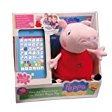 peluche tablet peppa pig