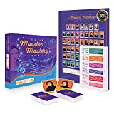 AWARD WINNING GAME MATCH MADE IN MUSIC – Harmonize your kids' music lessons with Maestro Mastery, Byron's Games' matching learning game! Kids can learn the 52 masters, from medieval musicians to contemporary composers. MAKE MATCHES, BOOST BRAINS – Wi...