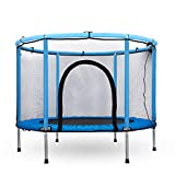Trampoline for Kids - 5ft Outdoor & Indoor Mini Toddler Trampoline with Enclosure, Birthday Hoilday Gifts for Kids, Gifts for Boy and Girl, Kids Trampoline Toys, Age 1-9