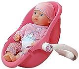 Baby Annabell Mi primera muñeca y asiento cómodo rosa para muñecas de hasta 36 cm