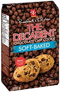 President's Choice The Decadent Soft-Baked Chocolate Chip Cookie 300g {Imported from Canada}