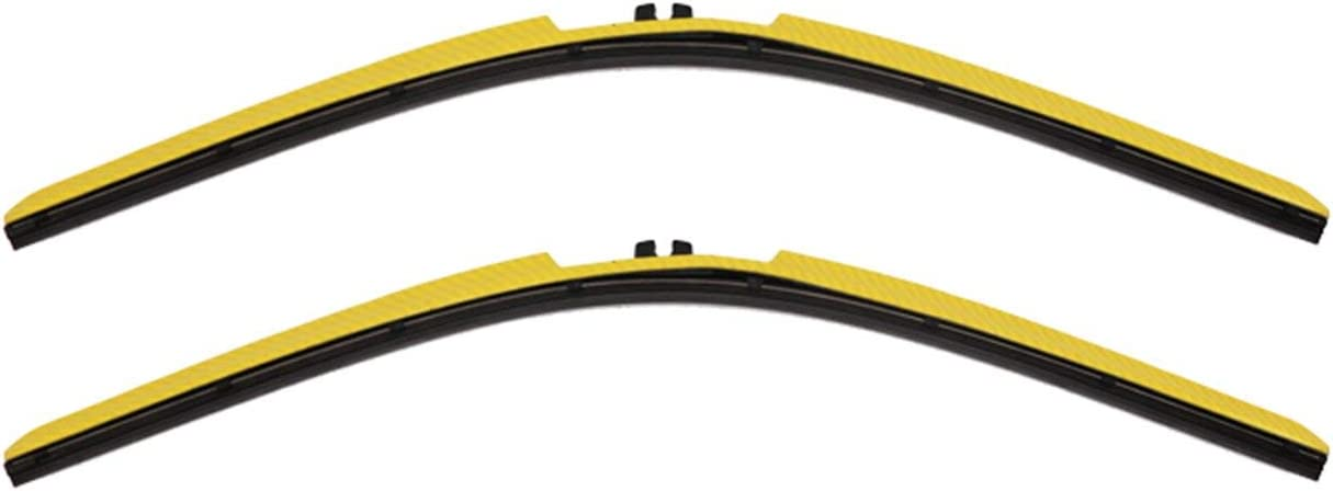 Clix Wipers Omaha Mall - Yellow Carbon Fiber Blades Wiper Automotive Univ Seattle Mall