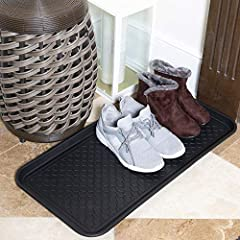 100% Recycled Polypropylene Ideal for shoes, pets, gardening, painting, tools and just about anything else that may leave a mess Protects floors and surfaces and contains spills Provides indoor/outdoor protection and storage Boot and shoe tray has a ...