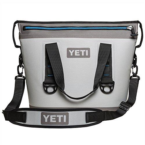YETI Hopper Two 20 Portable Cooler, Fog Gray/Tahoe Blue