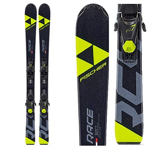 FISCHER Ski Jugendski RC4 Race JR SLR 140cm Modell 2020 + Bindung FJ7 AC SLR