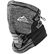 Adjustable Neck Gaiter Face Mask Scarf Bandana Dust UV Sun Protection for Men Women for Running Hiking Fishing Cycling