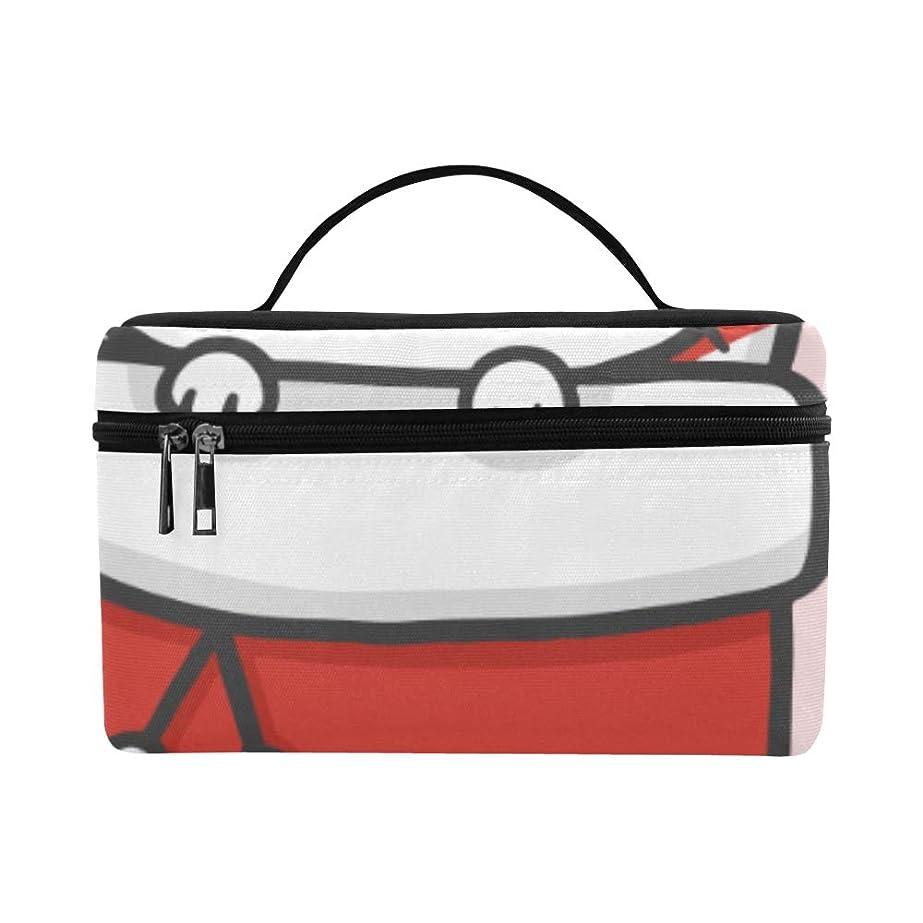 手段かんたんアクロバットLNJKD メイクボックス ソックス 猫 コスメ収納 化粧品収納ケース 大容量 収納ボックス 化粧品入れ 化粧バッグ 旅行用 メイクブラシバッグ 化粧箱 持ち運び便利 プロ用