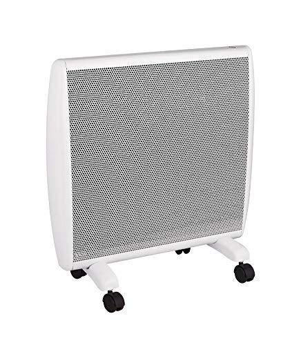 Haverland ANUBIS-10 | Calefactor Convector Eléctrico Portátil | 1000W | Bajo Consumo | Con Ruedas | Termostato Electrónico Intuitivo | 3 Modos | Confort / Eco / Antihielo | Blanco