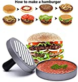 Zoom IMG-1 hepaz pressa per hamburger stampa