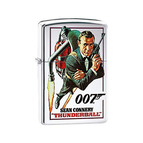 Art Deco Home aansteker met ritssluiting, James Bond Thunderball 60003908