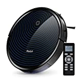 Robit Robot Vacuum Cleaner, Upgraded 2500Pa Strong Suction, Ultra-Thin, Drop Sensor, Quiet, Self- Charging Robotic Vacuum Cleaner for Pet Hair, Hard Floors, Carpet