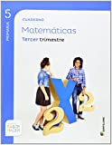CUADERNO MATEMATICAS 5 PRIMARIA 3 TRIM SABER HACER - 9788468014616
