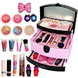 Kristy - Kit de maquillaje lavable para niñas, juego de maquillaje de princesa