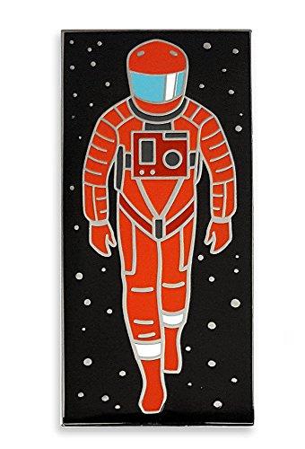 Pinsanity Sci-Fi Astronaut and Monolith Enamel Lapel Pin