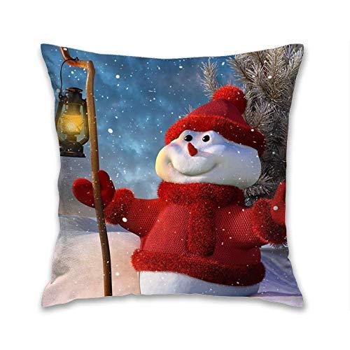 N\A Santa'sRulesThrowPillowCaseFundadecojínFundadeAlmohadaDecorativadepoliésterparasofáDecoracióndelacasaDecoración