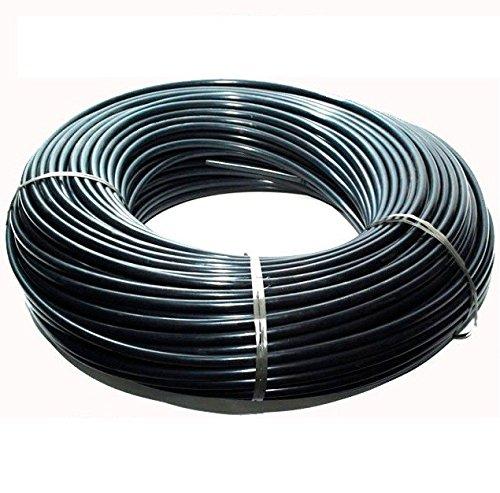 Preisvergleich Produktbild microtubo flexibel 4, 5 x 6, 5 mm / Hohe Qualität / Spule 200 MTS / schwarz