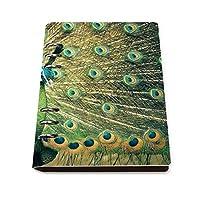 マクジャク PUレザールーズリーフノートブックバインダーリング日記ライティングハンドブック 23×17.5×2.5cm