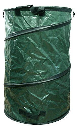 C2100 Cubo Plegable de 110 l, Verde, 48x48x60 cm