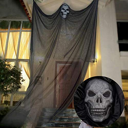 Calavera cortina para Halloween –213cm