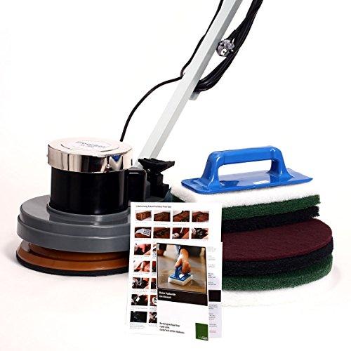 Spezialset mit Floorboy XL 300 Tellermaschine,4 Superpads, Handpadhalter mit 3 Handpads, Anleitungen und Padkunde von Bioraum