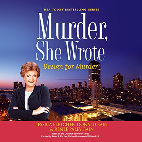 Murder, She Wrote: Design for Murder audiobook cover art