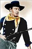 Poster 100 x 150 cm  John Wayne als Cowboy von Eve