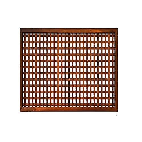 QBZS-YJ omheining tuin scherm Trellis stijl vrijstaande houten tentoonstelling stand scheidingswand bloemenstandaard